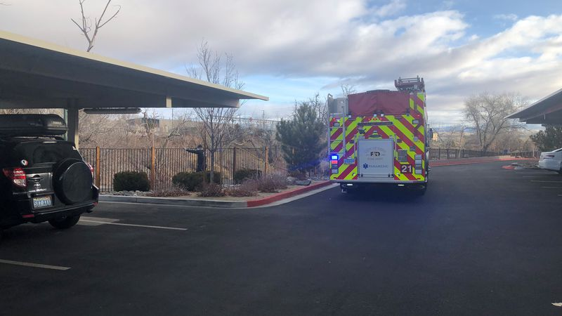 Crews extinguished a fire Wednesday morning they believe started as a cooking fire.