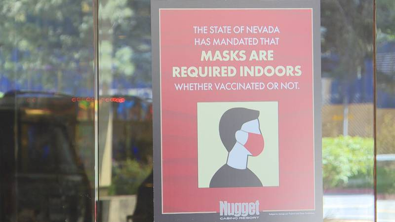 Masks are required to enter Washoe County Casinos as of July 30