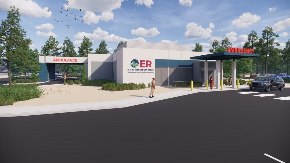 The Northern NV Medical Center is planning a free-standing ER for Spanish Springs.