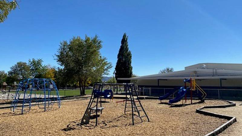 New playground equipment at Rita Cannan elementary thanks to the Dolan Class Project