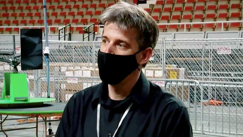 Doug Logan is the CEO of Cyber Ninjas.