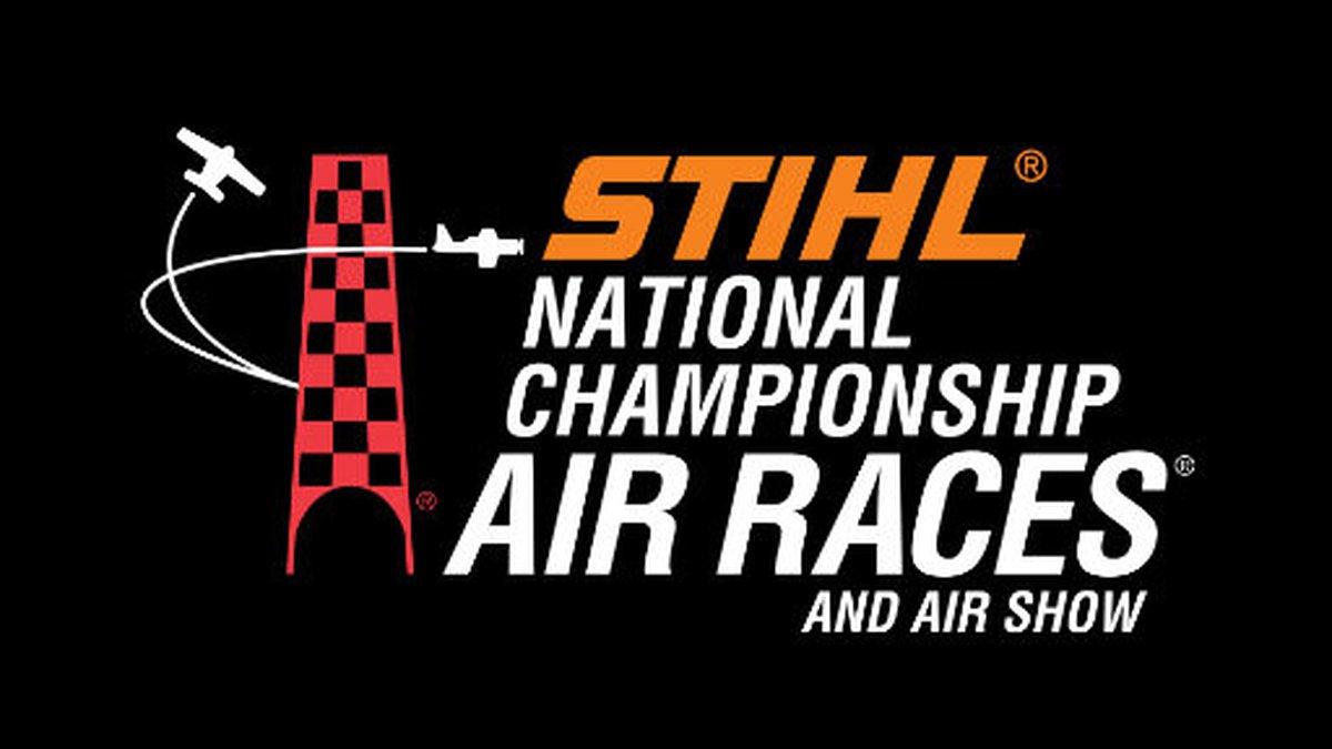 STIHL National Championship Air Races logo.
