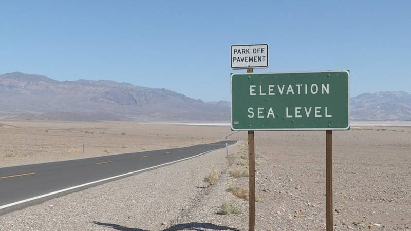 This  sign in Death Valley National Park is a popular photo op for tourists