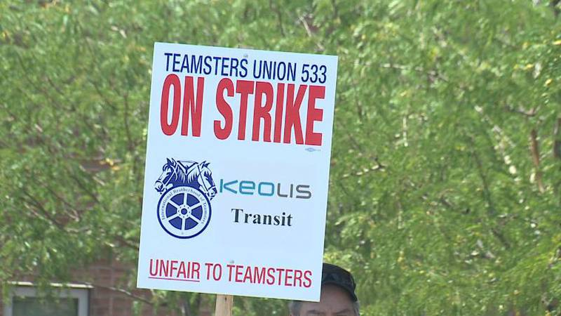 The Teamsters has walked out on strike against Keolis, affecting RTC bus service in Washoe...