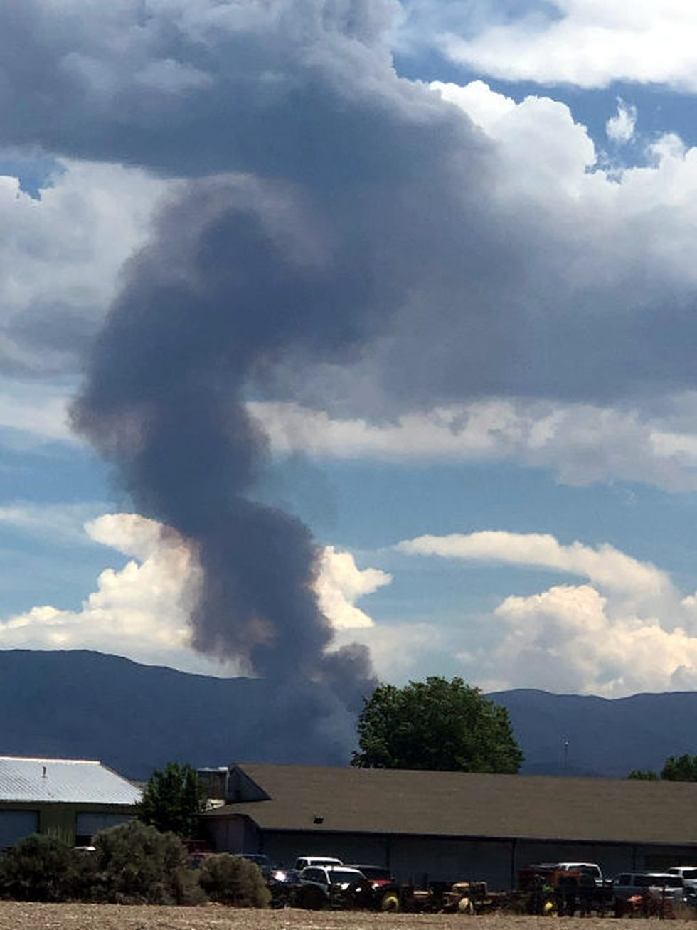 Val Hatcher submitted this photograph of the Monarch Fire in Douglas County.