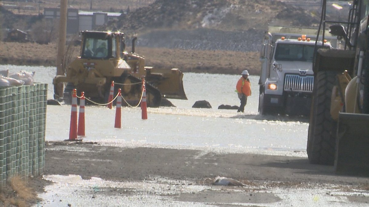 Back in 2017 crews made efforts to mitigate flooding on Swan Lake
