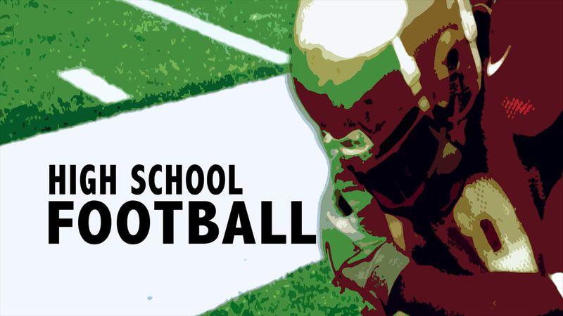 High school football graphic