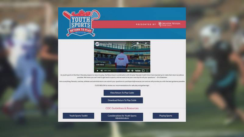 The Reno Aces & Greater Nevada Credit Union have created a Return to Play program for youth...