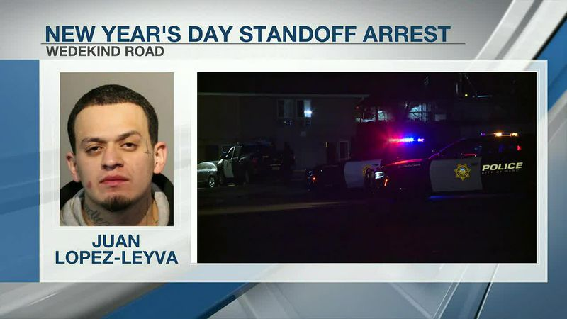 Two suspects are now in custody for a New Year's Day shooting that resulted in a standoff.
