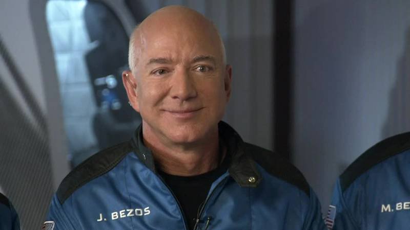 """Jeff Bezos is """"excited and curious"""" ahead of launch."""