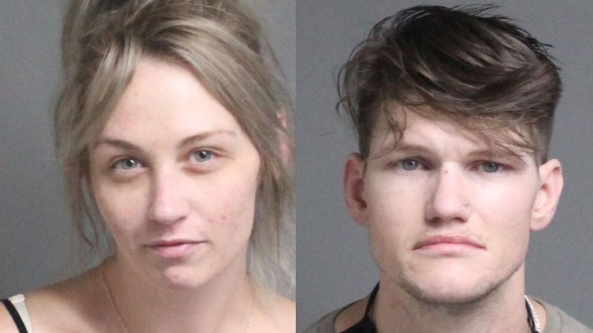 Brittany Ward, 29, and Adam Moore, 30, were arrested for drug trafficking.