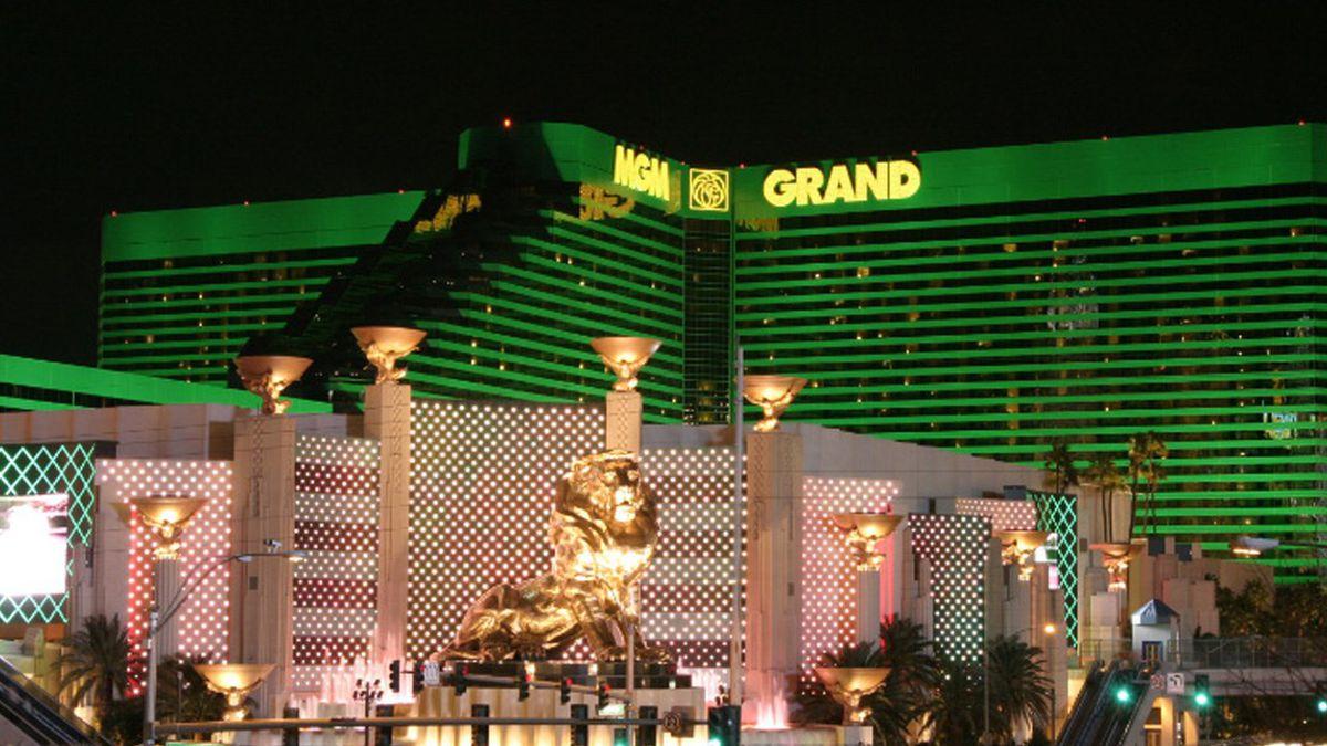 MGM Grand Hotel in Las Vegas, Nevada.