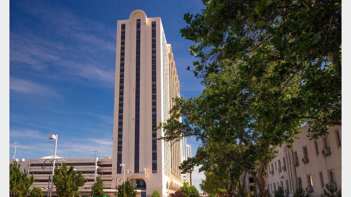 "The University has renamed the interim hall ""Wolf Pack Tower."" Photo courtesy: University of Nevada, Reno"