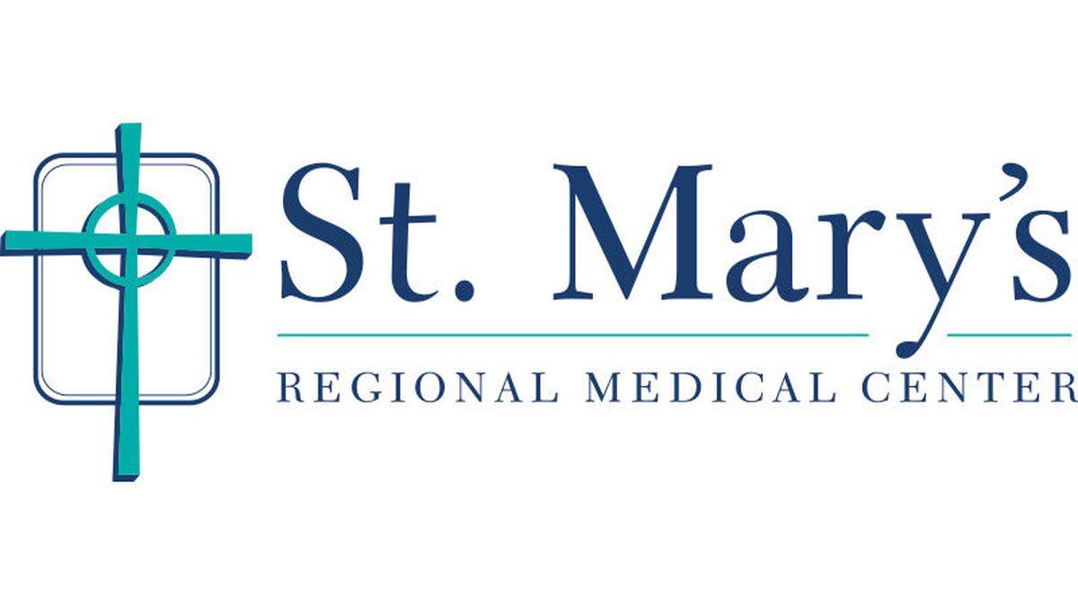 Saint Mary's Regional Medical Center logo.