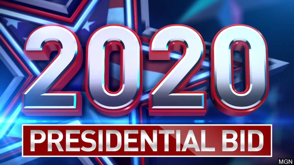 2020 Presidential Campaign graphic.