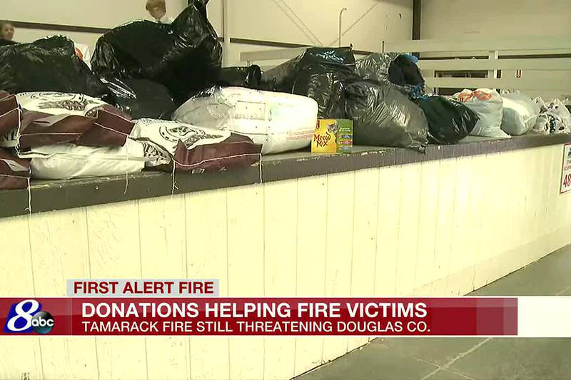 Road closures, donations pile up as Tamarack Fire wraps up 21st day