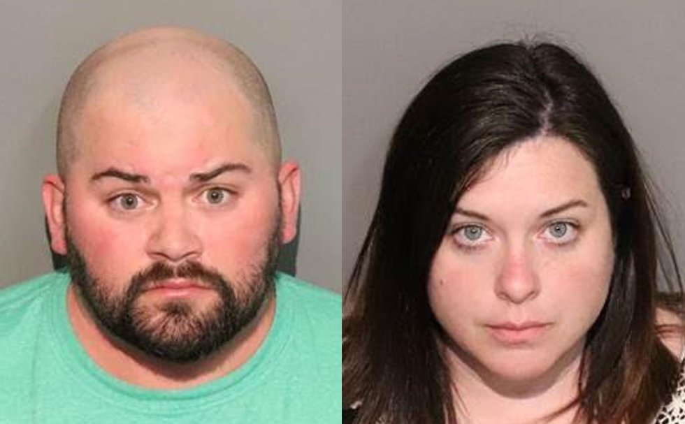 Jordan Piper, 36, and Lindsey Piper, 38, the father and stepmother of Roman respectively, face...