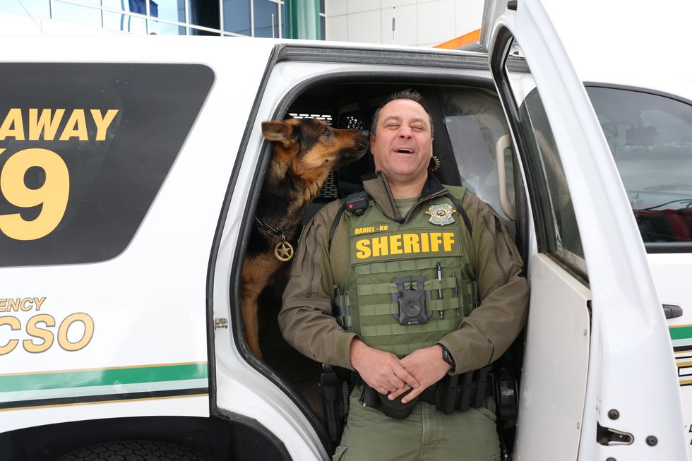 K9 Cezar, who retired in March of 2019, passed away on Sunday, June 21, 2020
