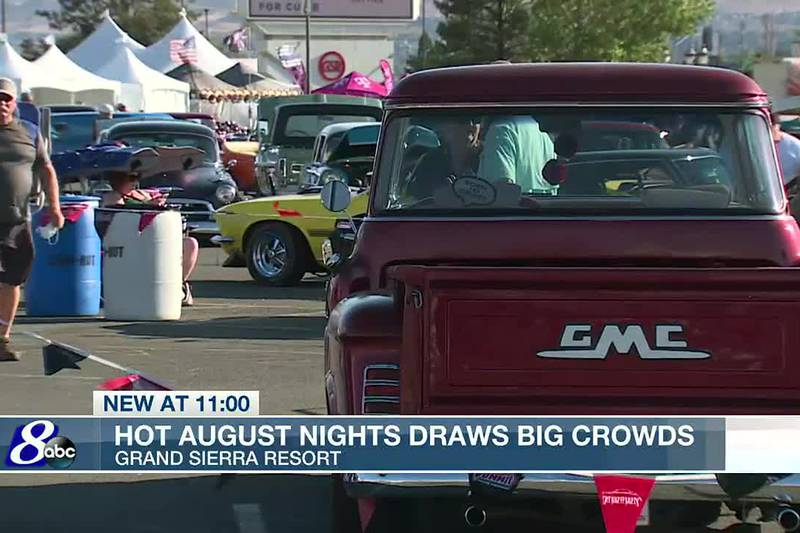 People gather at Grand Sierra Resort for Hot August Nights.
