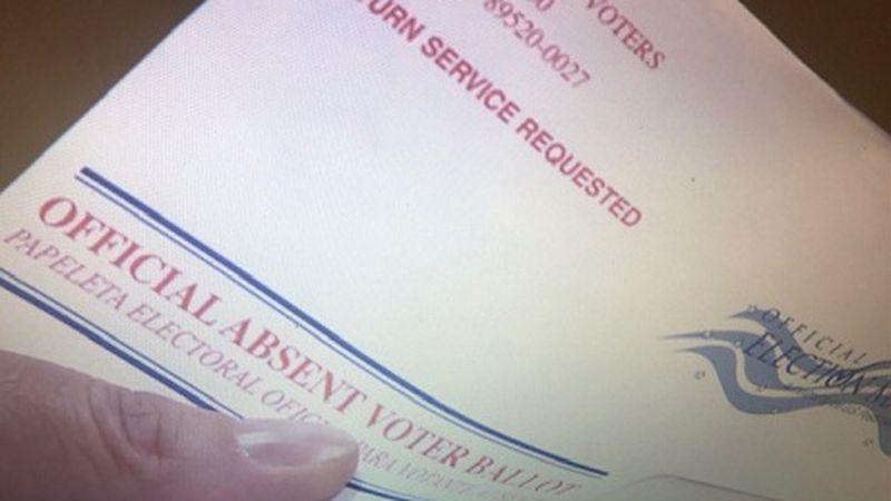 Mail in Nevada ballot