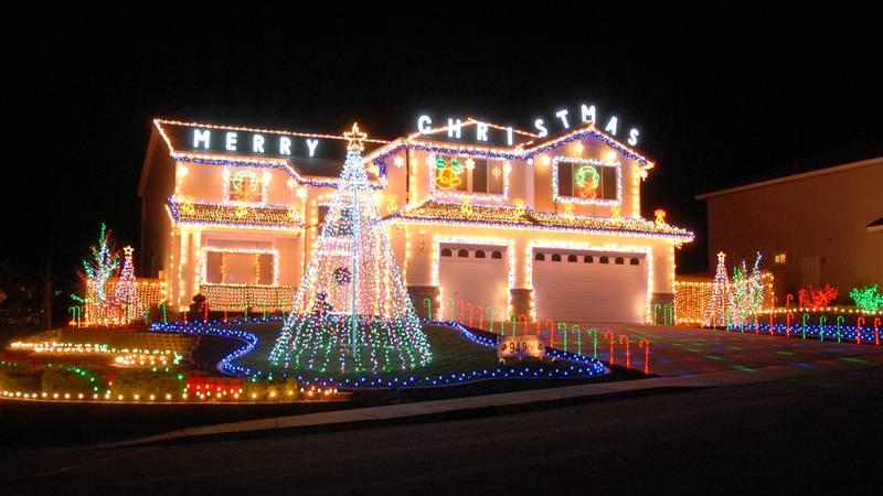 Solitude Drive Christmas lightshow