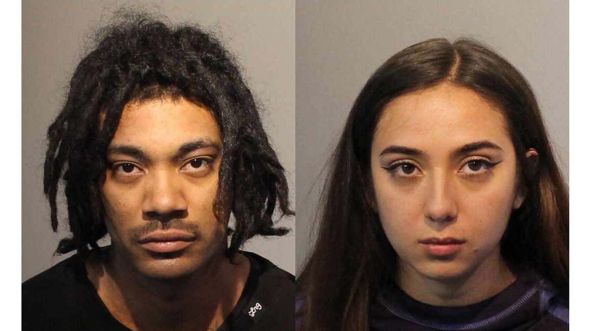 Roberto Smith, 27, of Sparks and Jaeden Jimenez, 22, of Minden were arrested late Monday, March...
