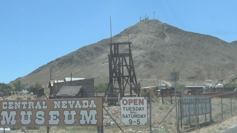 Located in Tonopah, the museum showcases the region's mining and military history
