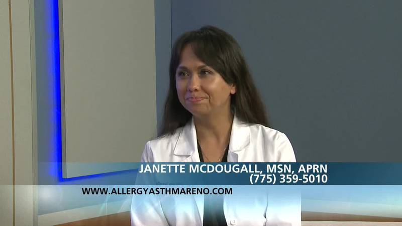 Janette McDougall/Kenalog vs. Allergy Shots