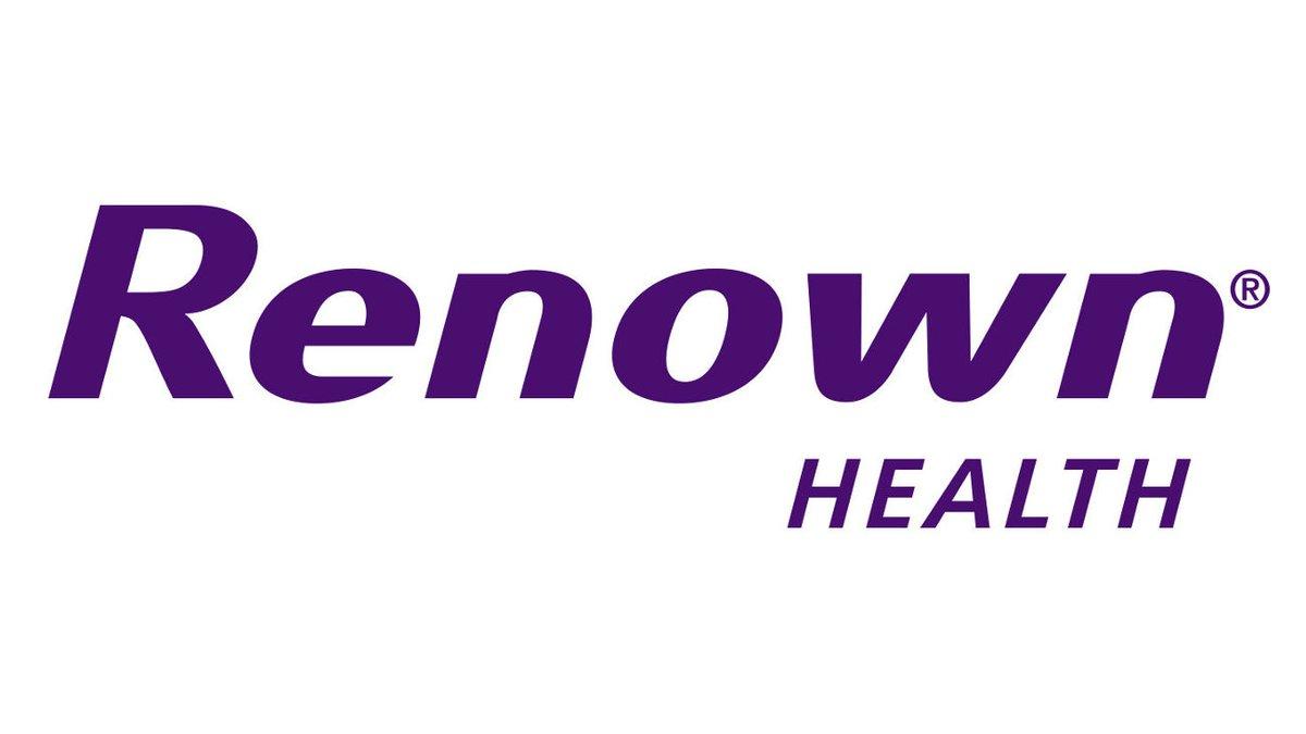 Renown Health logo.