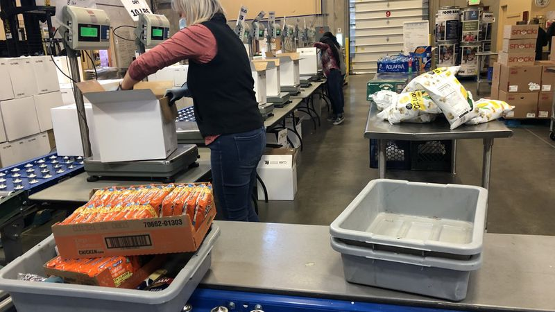 MLK National Day of Service at the Food Bank of Northern Nevada.