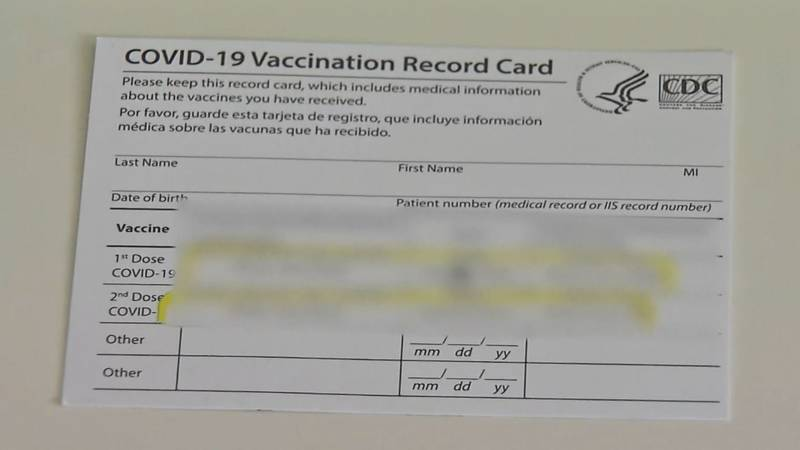 North Carolina college students are said to be buying fake vaccine cards to circumvent vaccine...