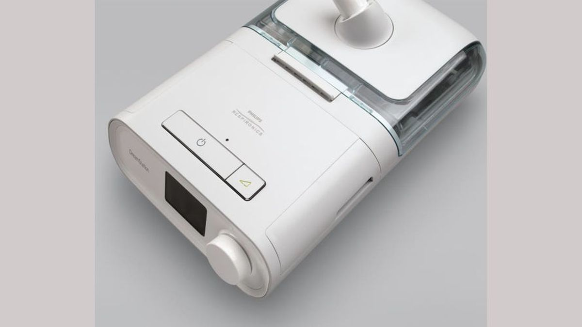 A Resmed CPAP machine. Photo courtesy U.S. Veteran's Administration.