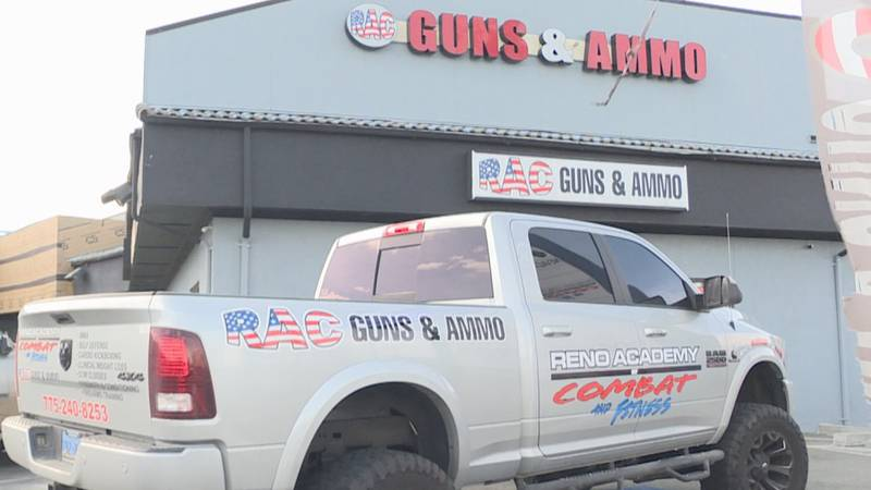 RAC Guns and Ammo is located on Mill St. in Reno.