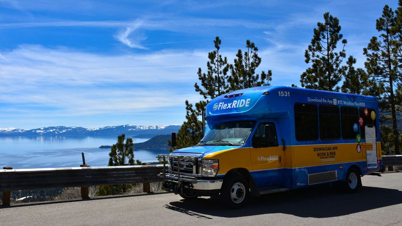 RTC will be offering rides to Incline Village/Sand Harbor from Reno through its FlexRIDE service.