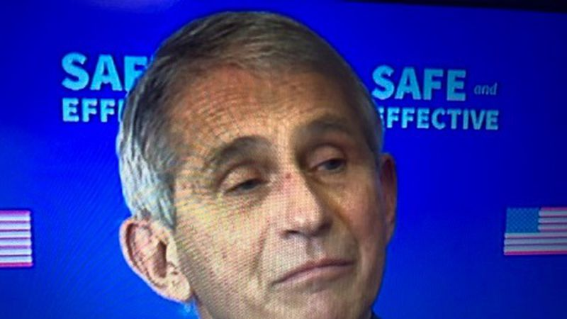 Dr. Anthony Fauci with the Allergy and Infectious Disease Institute