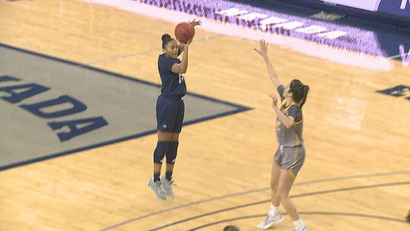 Nevada sweeps the season series with Wyoming after a career day for junior guard Amaya West