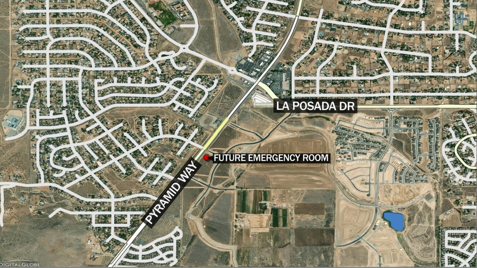The future ER will be off of Pyramid Way on Oppio Ranch Parkway