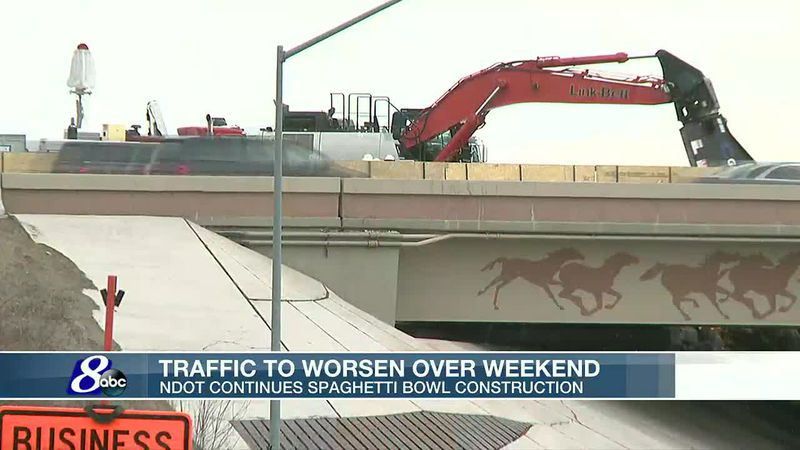 Mill Street closed under I-580 through Monday at 5 a.m.