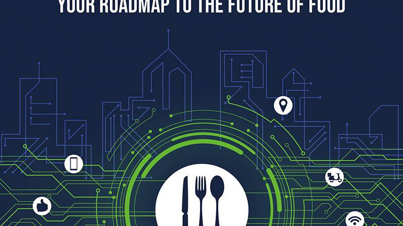 Cover of 'Delivering the Digital Restaurant: Your Roadmap to the Future of Food' by Meredith...