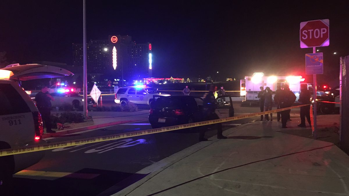The scene of a road rage turned deadly at the East Second Street Walmart in Reno on Nov. 24,...