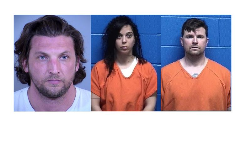 Bradley Kohorst, 35, Orit Oged, 32, and Cory Spurlock, 33 were arrested for the murders of a...
