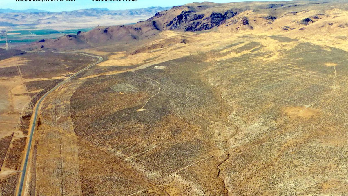 Thacker Pass image from the Environmental Impact Statement. It is the site of a proposed...