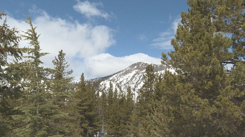 The final snow survey of 2021 was taken on Monday near the summit of Mt. Rose