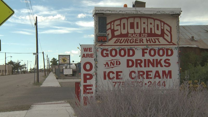 The hut is located on U.S. 95 in Mina