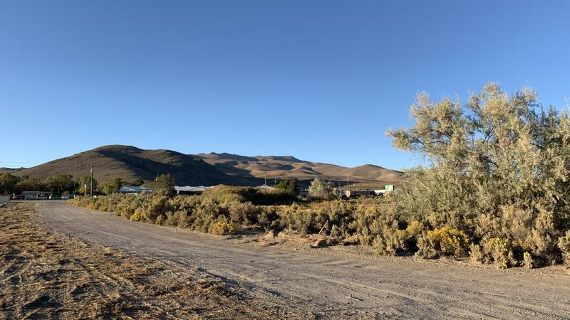 The proposed site of a meat processing plant in Carson City.