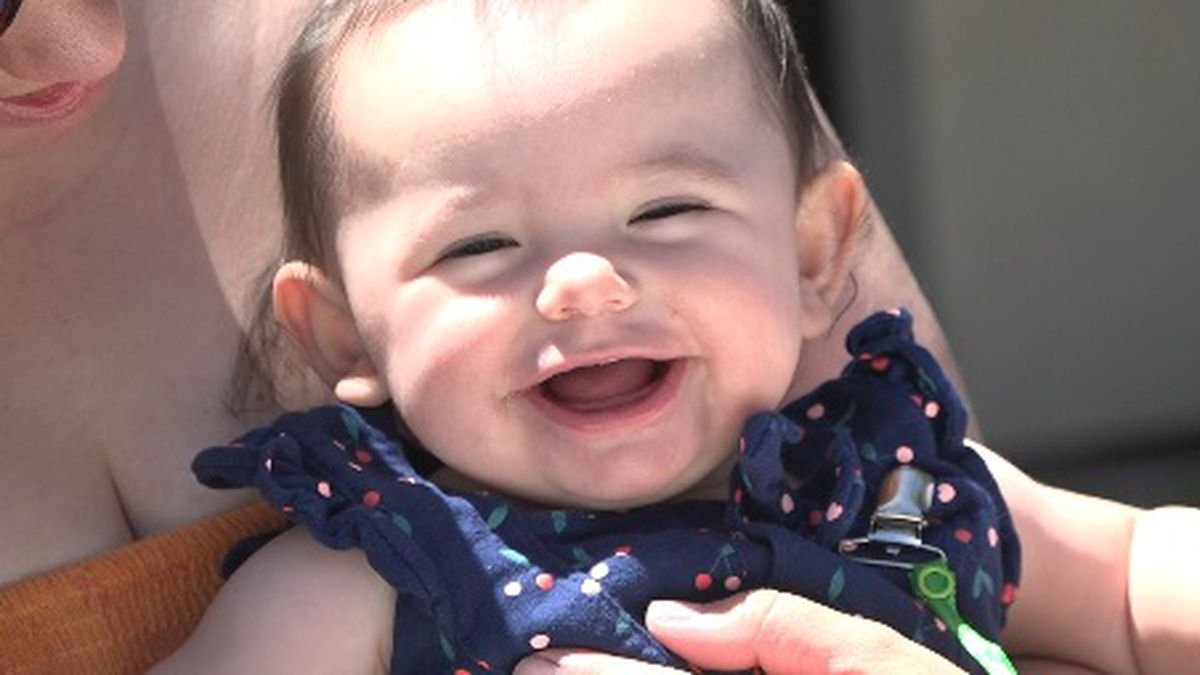 7-month-old Kensington's father resorted to breaking into her piggy bank to buy her formula as he waits for DETR to process his unemployment insurance claim filed more than eight weeks ago.