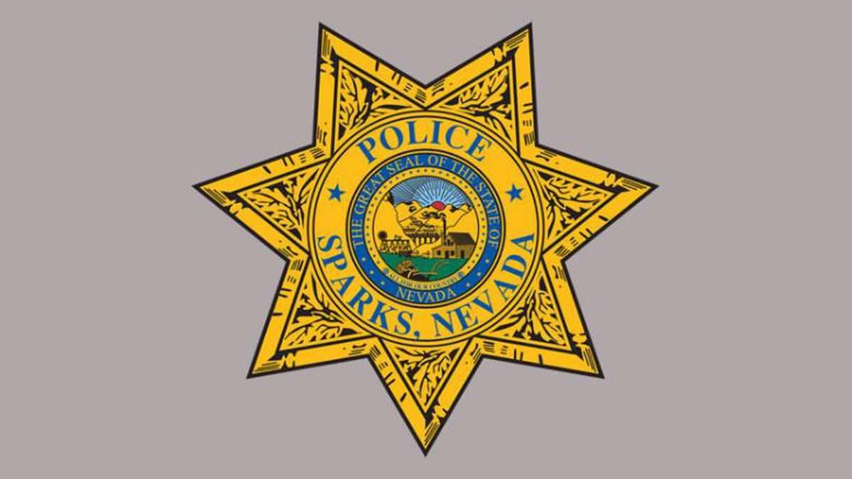 Sparks Police Department logo.