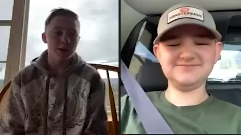 A New Hampshire teen is being credited for saving a boy's life after watching his ATV crash on...