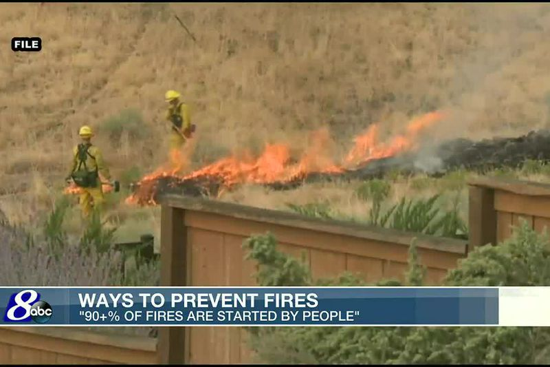 Tips to prevent fires as temperatures climb