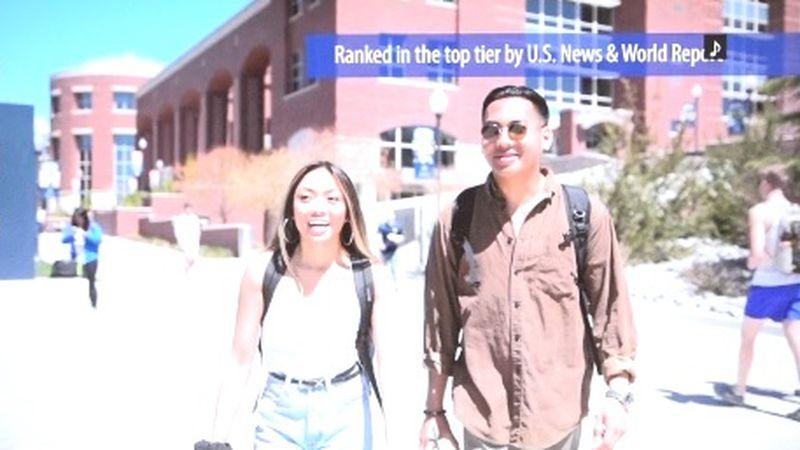 University of Nevada promotional video taken from https://www.unr.edu/visit.